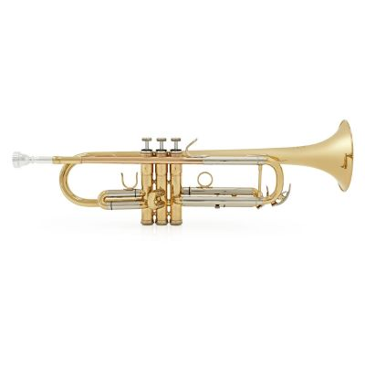Besson BE110 Series Bb Trumpet, Gold Laquer