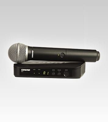 Shure BLX24 Vocal System WPG58