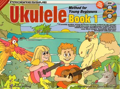 Progressive Ukulele Method for Young Beginners Book 1