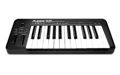 Alesis Q25 25 -Key Usb Midi Keyboard Controller (Q25)