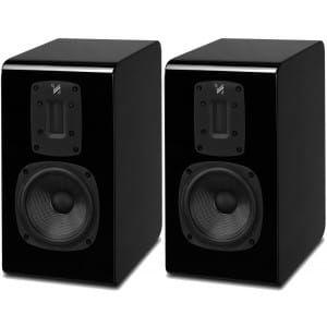 Quad S-2 Bookshelf Speakers (pair), Piano Black