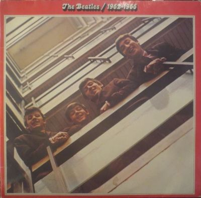 BEATLES - THE BEATLES 1962 - 1966 (RED ALBUM)