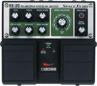 Boss RE20 Space Echo Pedal
