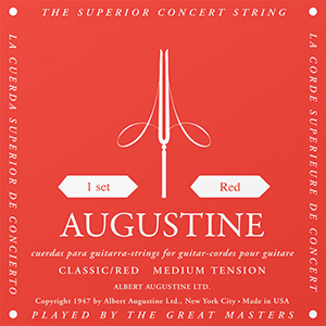 Augustine Red Label Set Classical Guitar Strings