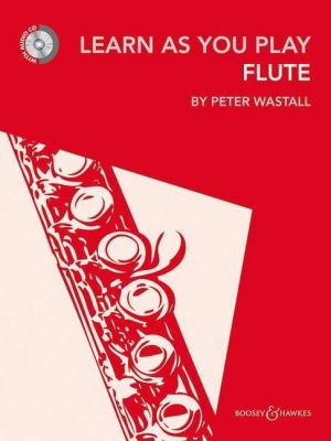 Learn as you Play Flute (New 2012) (Bk CD)