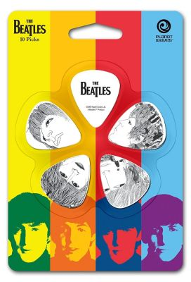 Planet Waves Beatles Guitar Picks Revolver Medium 10 Pack