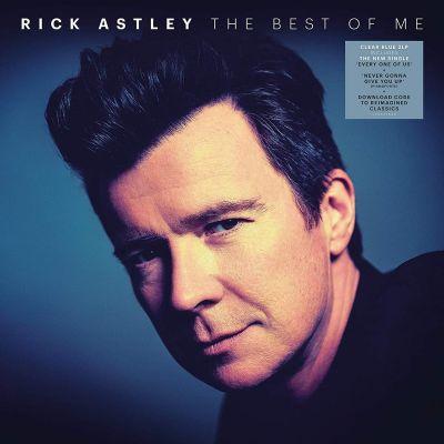 RICK ASTLEY - THE BEST OF ME - 2LP BLUE VINYL