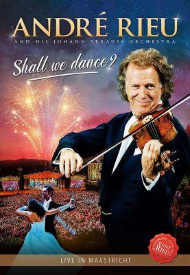 ANDRE RIEU & JOHANN STRAUSS OR - SHALL WE DANCE - DVD