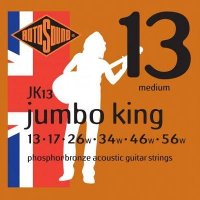 Rotosound Jk13 Phosphor Bronze 13 17 26 34 46 56