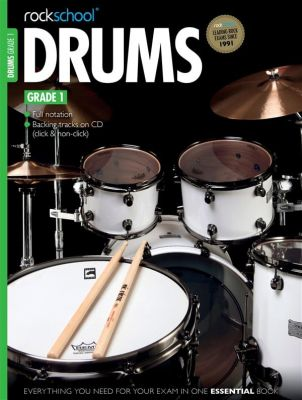 Rockschool Drums Grade 1 2012-2018