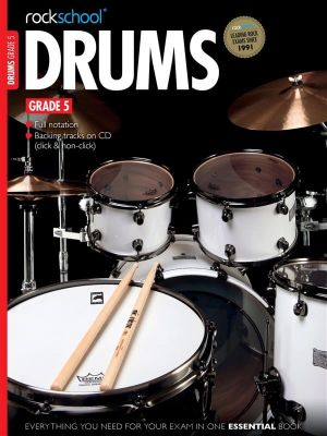 Rockschool Drums Grade 5 2012-2018