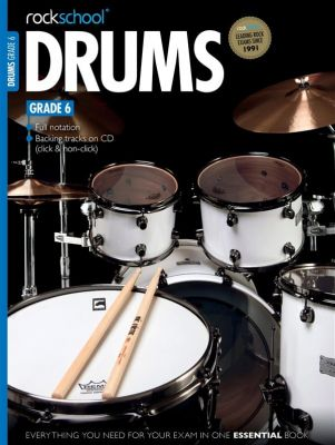 Rockschool Drums Grade 6 2012-2018