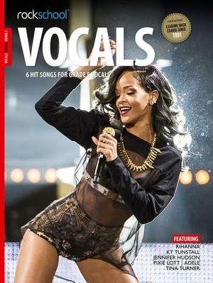 Rockschool Vocals Grade 5 - Female from 2014 (Book + Audio Download)