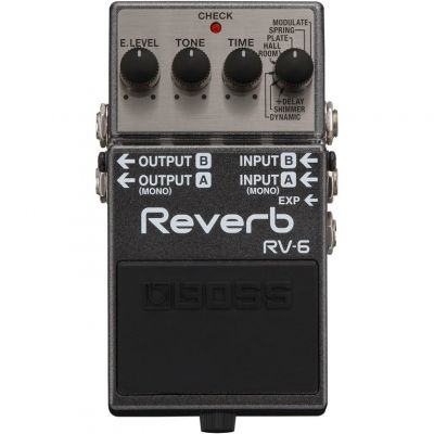 Boss RV6 Reverb Compact Pedal