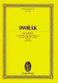 String Quartet F major op 96 B 179