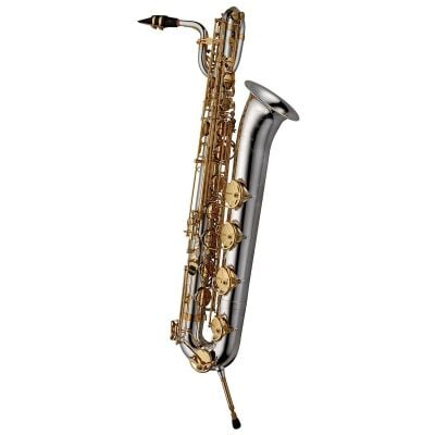 Yanagisawa BWO30BSB Baritone Saxophone - Solid Silver Neck and Body Silverplated Bell