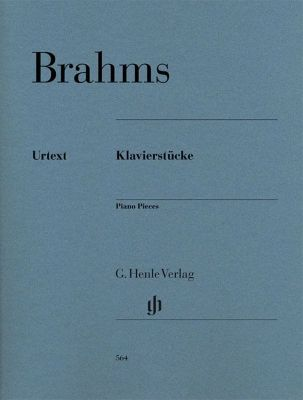 Johannes Brahms - Piano Pieces (Piano solo)
