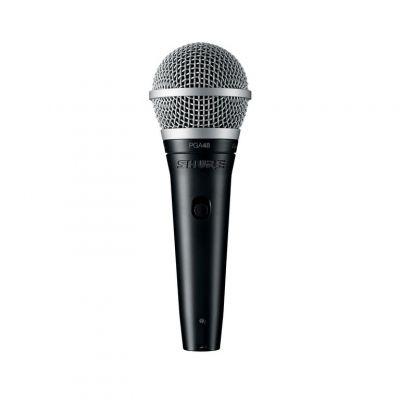 Shure PGA48 Vocal Handheld Microphone XLR QTR
