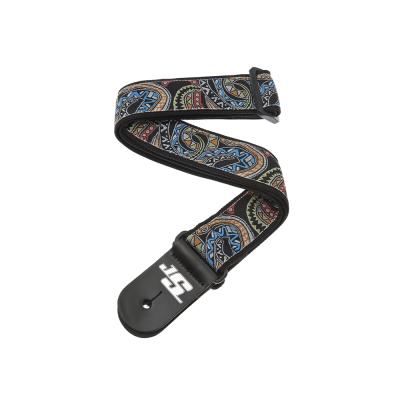 D'Addario Joe Satriani Nylon Strap Snakes Mosaic