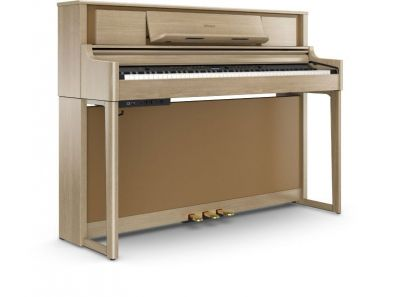Roland LX705-LA Upright Piano In Light Oak