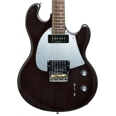 Shergold Masquerader SM01 Thru Black Electric Guitar
