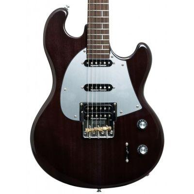 Shergold Masquerader SM02 Thru Black Electric Guitar