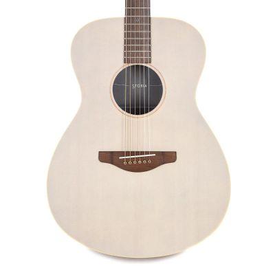 Yamaha STORIA I Off White Folk Guitar