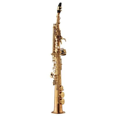 Yanagisawa Soprano Saxophone, Bronze, Clear Lacquer, straight and curved neck (SWO20)