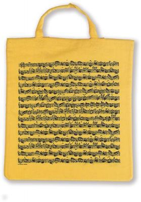 Tote Bag - Sheet Music (Yellow)