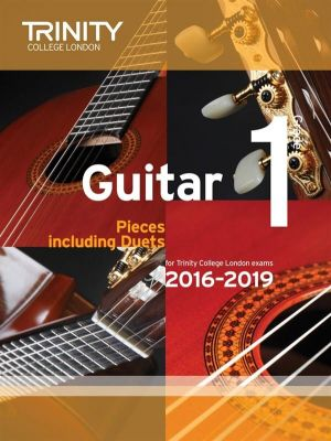 Trinity College Guitar Exam Pieces 2016-2019 Grade 1
