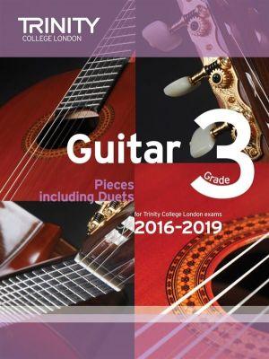 Trinity College Guitar Exam Pieces 2016-2019 Grade 3