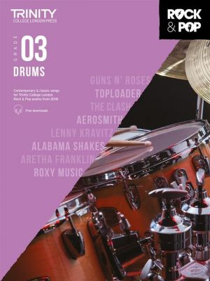 Trinity College London Rock and Pop 2018 Drums Grade 3 (Book + Online Audio)