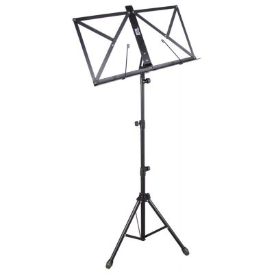 TGI Music Stand inc Bag, Black