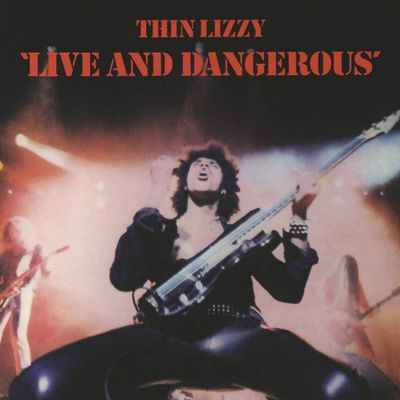 THIN LIZZY - LIVE AND DANGEROUS - 2LP VINYL