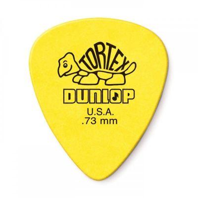 Dunlop Tortex Standard Plectrums 12-Pack 0.73mm