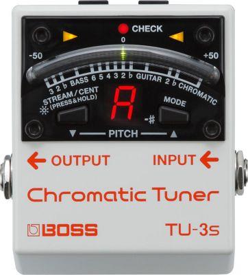 Boss TU3S Chromatic Tuner Pedal