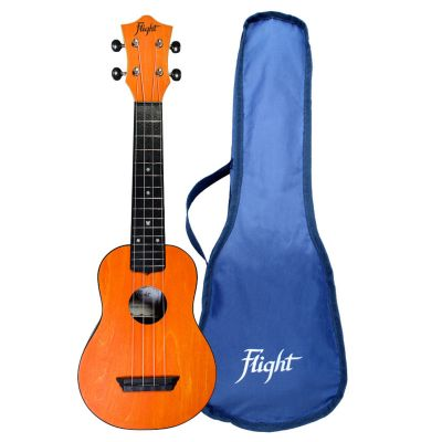 Flight TUS35 ABS Travel Soprano Ukulele - Orange