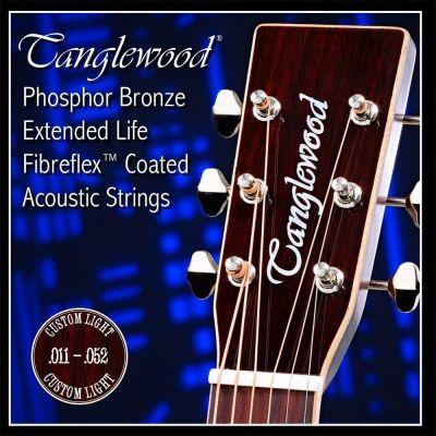 Tanglewood 11 Gauge Phosphor Bronze Coated Acoustic Strings