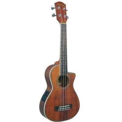 Ashbury Koa Tenor Ukulele Electro Acoustic