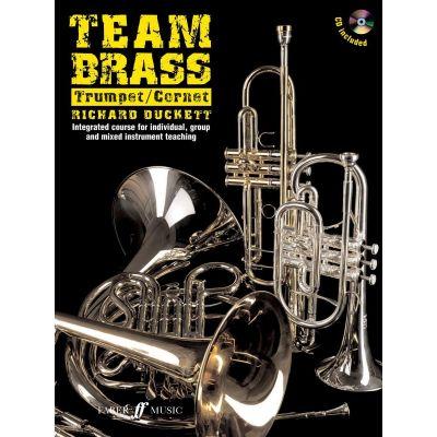 Team Brass Trumpet Cornet (Book CD)