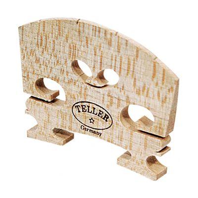 Hidersine Violin Bridge - Aubert Model Shaped And Fitted, 3/4 Size