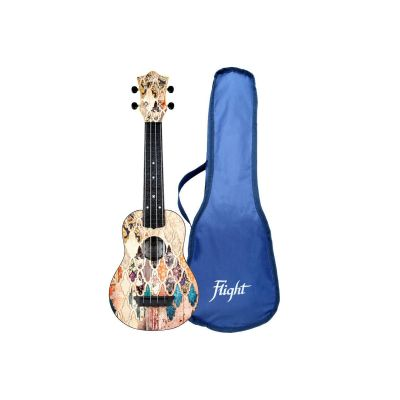 Flight TUS40 ABS Travel Soprano Ukulele - Granada