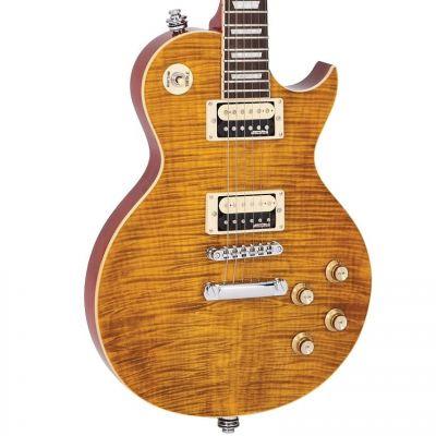 Vintage V100 Guitar Paradise Flamed Maple