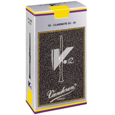 Vandoren V12 Bb Clarinet Reeds 2.5 (Box of 10)