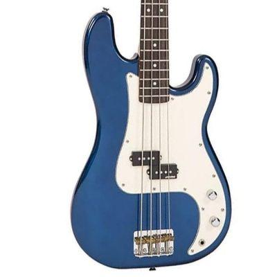 Vintage V4 Bass Bayview Blue