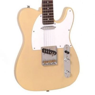 Vintage V62 Electric Guitar Ash Blonde