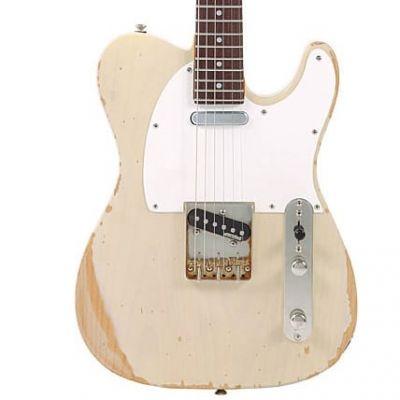 Vintage V62 Icon Electric Guitar Ash Blonde