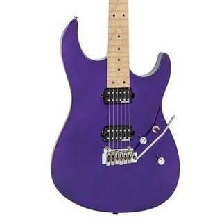 Vintage V6 24 Electric Guitar Purple