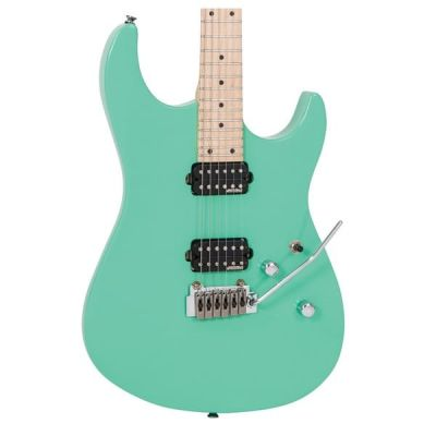 Vintage V6 24 Electric Guitar Ventura Green