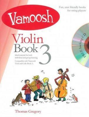 Vamoosh Violin Book 3 (Bk CD)